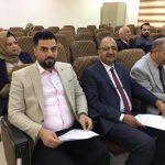 حضر الدكتور (محمد باسل عبد الكريم) – رئيس قسم هندسة تقنيات الحاسوب- الاجتماع الذي أقيم في الجامعة التقنية الوسطى في الدورة